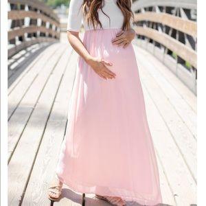Maternity dress pinkblush